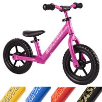 Eastern Pusher Ultralight and Adjustable Balance Bike for Ages 1 to 6 years old. Only 4.6 lbs (Pink)