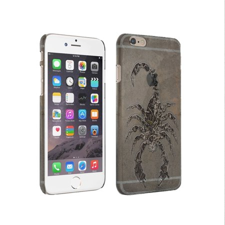 - KuzmarK iPhone 6 Plus Clear Cover Case - Scorpion Weapons Knives