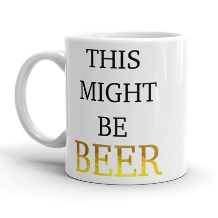 Funny Novelty Beer Drinking Alcohol Ceramic 11 ounce Coffee Tea