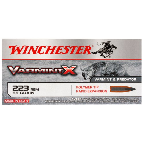 Winchester 223 Remington 55-Grain Varmint X Bullets