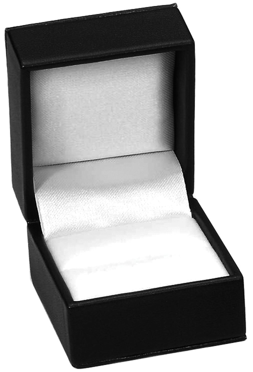 "Ring Box 2""X1.75""X1.5"" 1 Pkg Black 19991610"