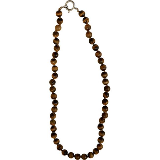 The Premium Connection Bret Roberts Tiger Eye Strand Necklace