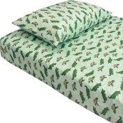 Store51 Llc 12440129 Alligators Turtles Animal Twin-single Bedding Sheet Set
