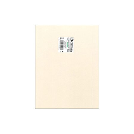 "Kunin 9"" x 12"" EcoFi Piece Cream Classic Felt Sheet, 24 Count"