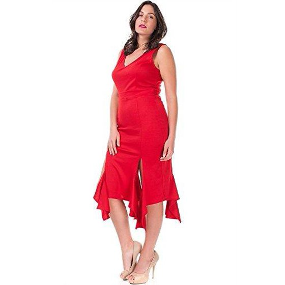 04eb49181d3c Nyteez - Nyteez Women's Plus Size Sleeveless Party Salsa Dress - Walmart.com