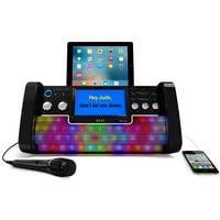 "iKaraoke KS780-BT Bluetooth CD+G Karaoke System with USB Playback/Recording, 7"" Color Display and Multi-Color Lighting Effect"