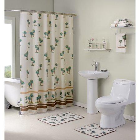 Madison Industries, Inc. 12-Piece Palmtree Bath in a Box (Ensemble Shower)