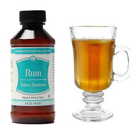 Lorann Rum - Lorann Oils Bakery Emulsions - Rum -  4 oz