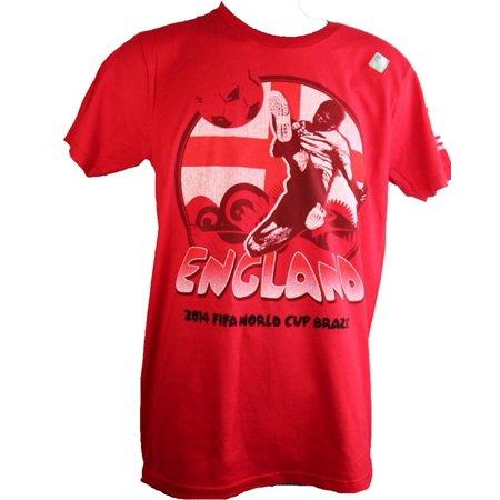 Fifa World Soccer Cup (FIFA 2014 World Cup England Soccer Tee Shirt)