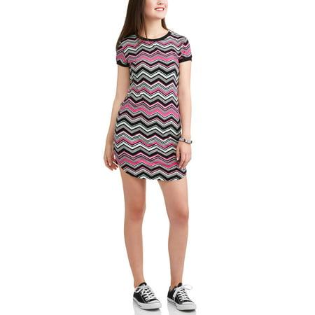 No Boundaries Juniors' Ringer Dress