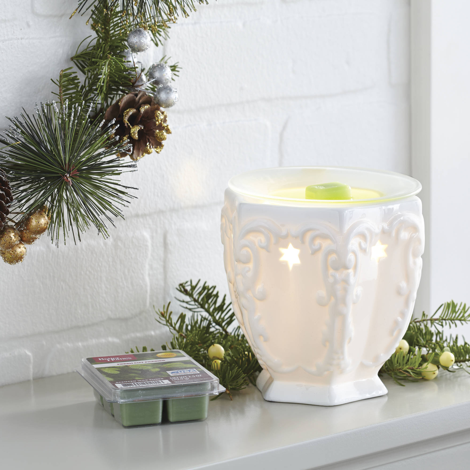 Better Homes and Gardens Full Size Warmer, Scrollwork