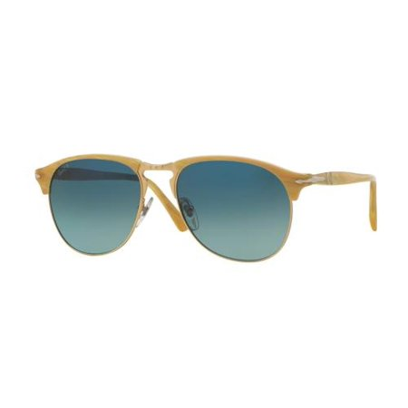 PERSOL Sunglasses PO8649S 1046S3 Light Horn 56MM