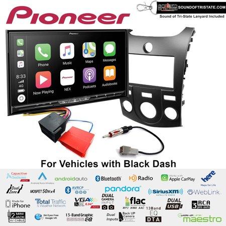 Pioneer AVIC-W8500NEX Navigation Receiver fits 2011-2013 Kia Forte (Black)