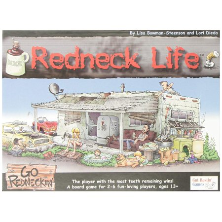 Redneck Life Board Game, The winner is the player with the most teeth remaining at the end of the game! By Gut Bustin Games