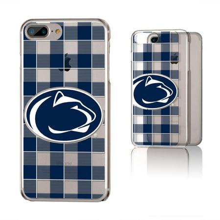 e67b2126a845b3 PSU Penn State Nittany Lions Plaid Clear Case for iPhone 8 Plus / 7 Plus /  6 Plus - Walmart.com