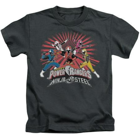 Power Rangers Ninja Blast Little Boys Juvy Shirt