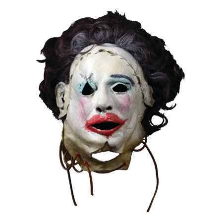 The Texas Chainsaw Massacre Adult Leatherface Pretty Woman Mask Halloween Costume Accessory (Womens Mask)