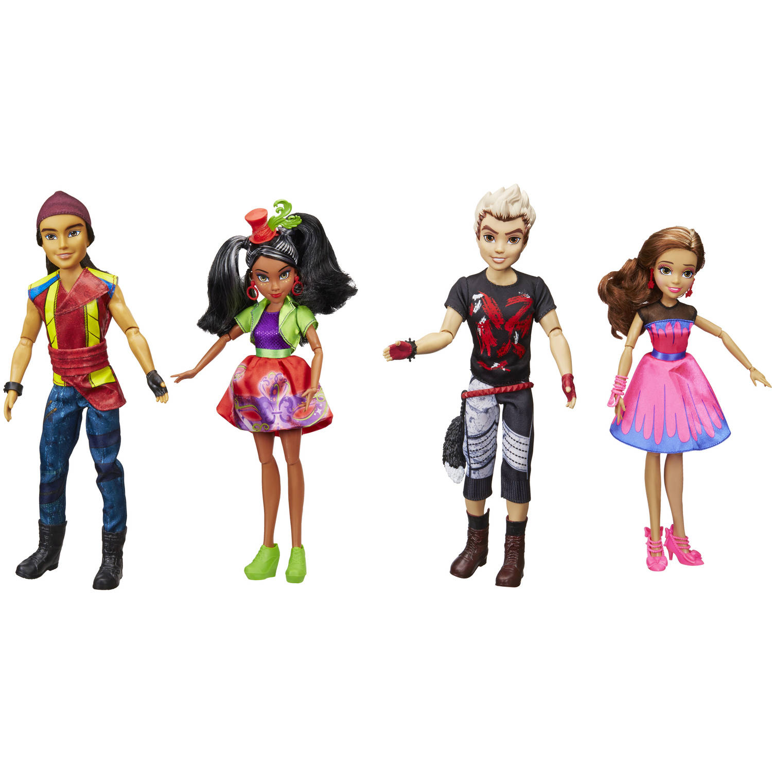 Disney Descendants Neon Lights, Pack of 4