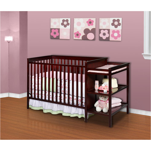 Delta - Sanibel Crib and Changing Table, Espresso