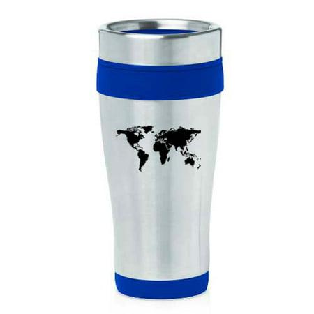 16oz insulated stainless steel travel mug world map blue walmart 16oz insulated stainless steel travel mug world map blue gumiabroncs Image collections