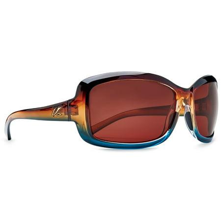 Kaenon Lunada Polarized Sunglasses - Tobacco Denim/ Gold (Kaenon Sunglasses)