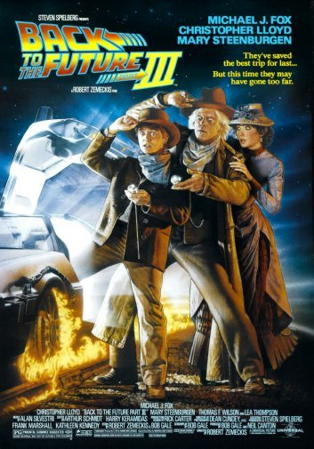 """Back To The Future 2 12/""""x8/"""" Classic Movie Silk Poster Wall Decoration"""