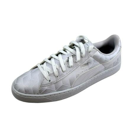 39f44ba8d122 Puma - Puma Men s Basket Classic Metallic White nan 361069 02 - Walmart.com