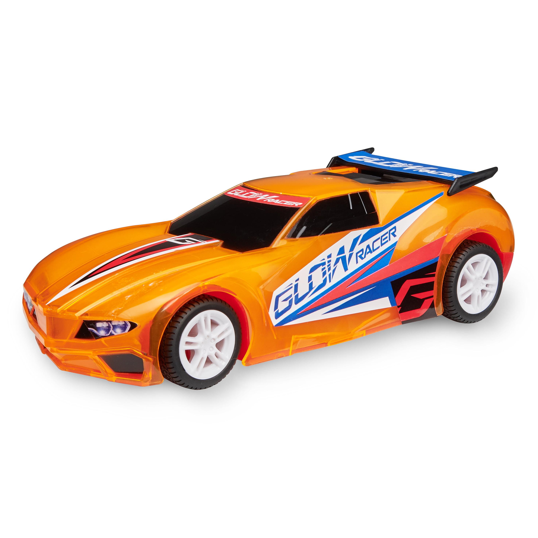 Adventure Force Pull-Back & Glow Racer, Orange