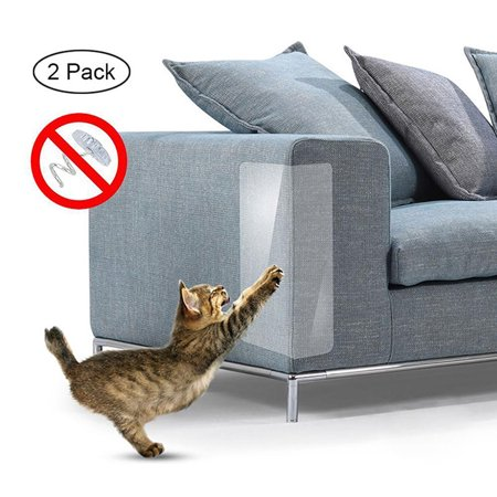 Couch Defender for Cats, Stop Pets from Scratching Furniture,Anti Scratch Mattress Protector,Chair and Sofa Deterrent Guards,Corners Scratch Cover ,Claw Proof Pads for Door and Wall(2PCS/Set)