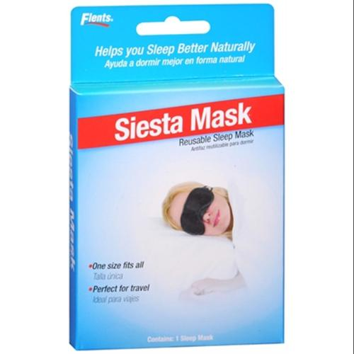 Flents Siesta Mask Reusable Sleep Mask #404 1 Each (Pack of 2)