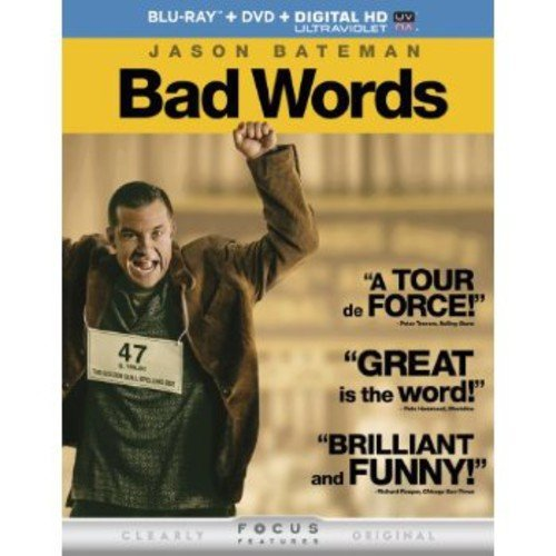 Bad Words (Blu-ray   DVD   Digital HD) (With INSTAWATCH) (Widescreen)