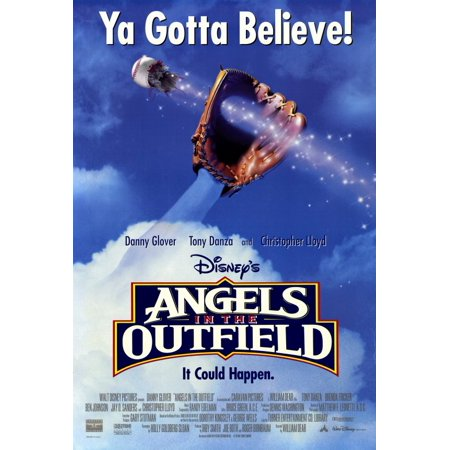 Angels In The Outfield  1994  27X40 Movie Poster