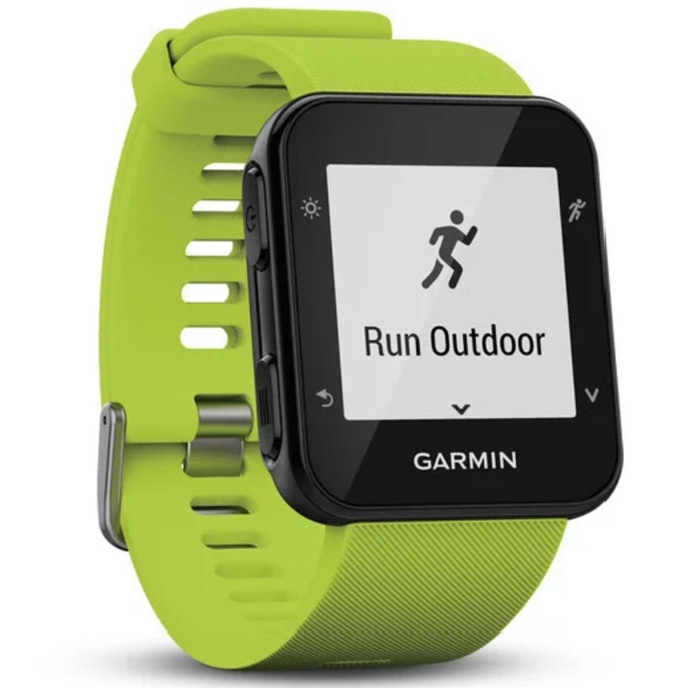 Garmin Forerunner 35 Fitness GPS Running Watch with HRM Limelight Edition by Garmin