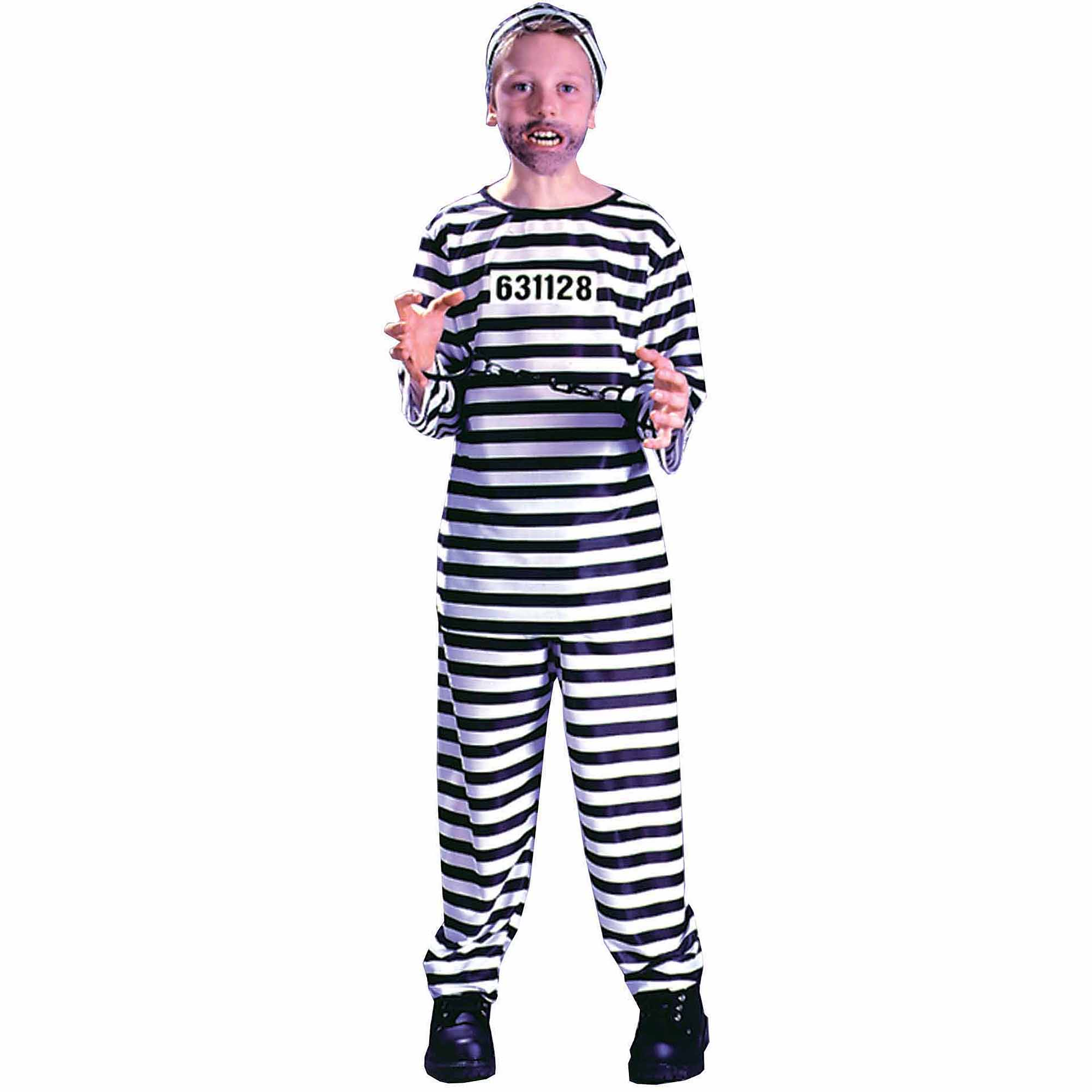 Jailbird Child Halloween Costume