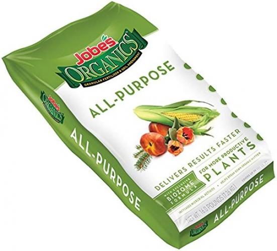 Jobes 09523 Organic All Purpose Granular Fertilizer 4-4-4, 16 Pounds (Discontinued by Manufacturer)
