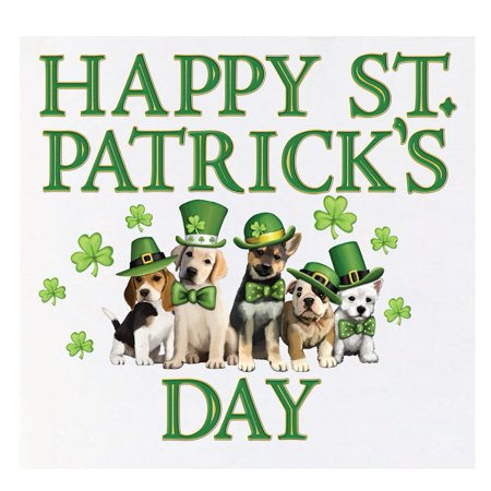St. Patrick Dogs Garage Door Magnets, Multi