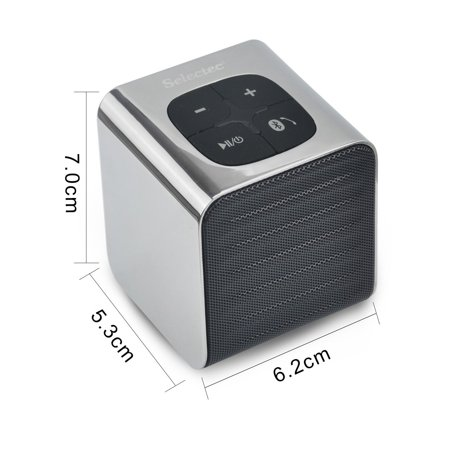 SELECTEC Portable Bluetooth Speaker Mini Wireless Speaker for Apple iPad iPhone, smartphones, Samsung Galaxy (Samsung Shape M5 Mini Wireless Audio Speaker)