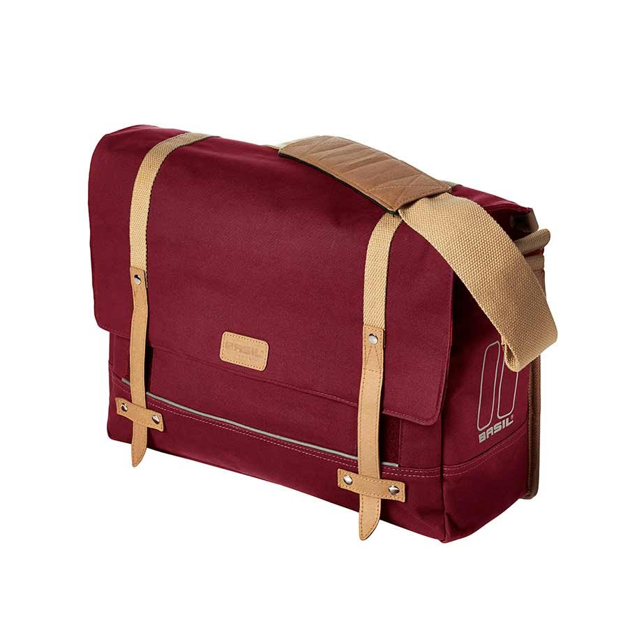 Basil, Portland, Messenger bag, Dark Red