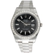 Best Rolex Watches - Mens 41mm 116300 Rolex DateJust II Real Diamond Review