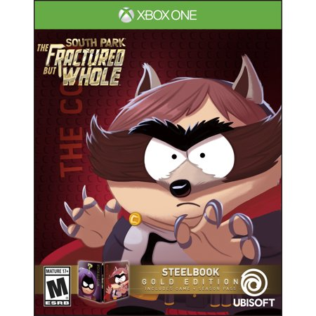 South Park The Fractured But Whole Steelbook Gold Edition Includes Season Pass Subscription  Xbox One   Ubisoft  887256022723