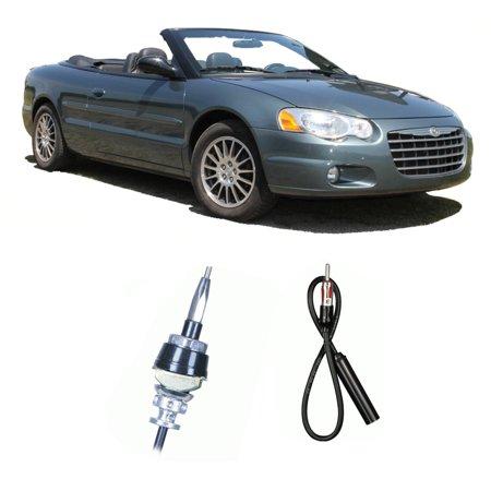 Chrysler Sebring Convertible 1996-2006 Factory Replacement Radio Custom Antenna