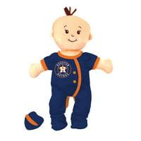MLB Baby Fanatic Wee Baby Doll, Houston Astros