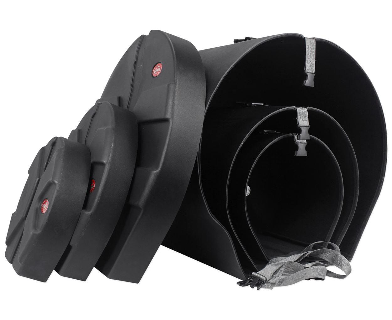 SKB 1SKB-DRP4 Package 4 Includes D1824 D1012 D1616 Drum Kit Case by SKB