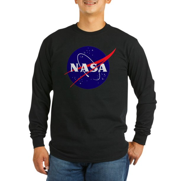 CafePress - NASA Meatball Logo Long Sleeve Dark T Shirt - Long Sleeve Dark T-Shirt