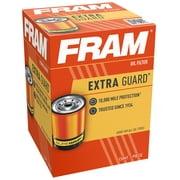 FRAM Extra Guard Filter PH6607, 10K Mile Change Interval Oil Filter