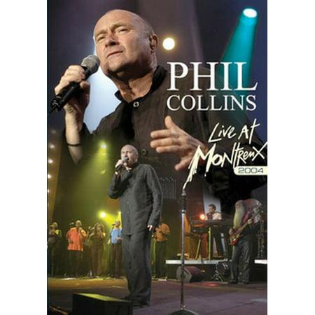 Montreux Swivel - PHIL COLLINS-LIVE AT MONTREUX 2004 (DVD) (2DISCS) (DVD)