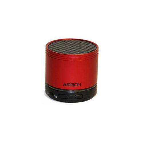 Argon AR-BTSP22rd Bluetooth Mini Ultra Portable Speaker In Alloy Steel Housing With Rechargeable, Red