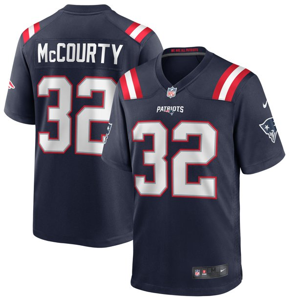 Devin McCourty New England Patriots Nike Game Player Jersey - Navy