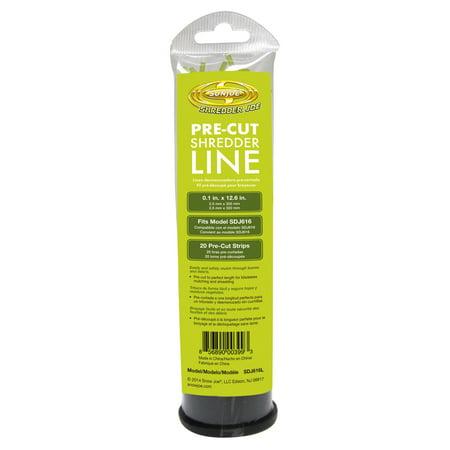 Image of Sun Joe Shredder Joe Pre-Cut Replacement Leaf Mulcher/Shredder Line