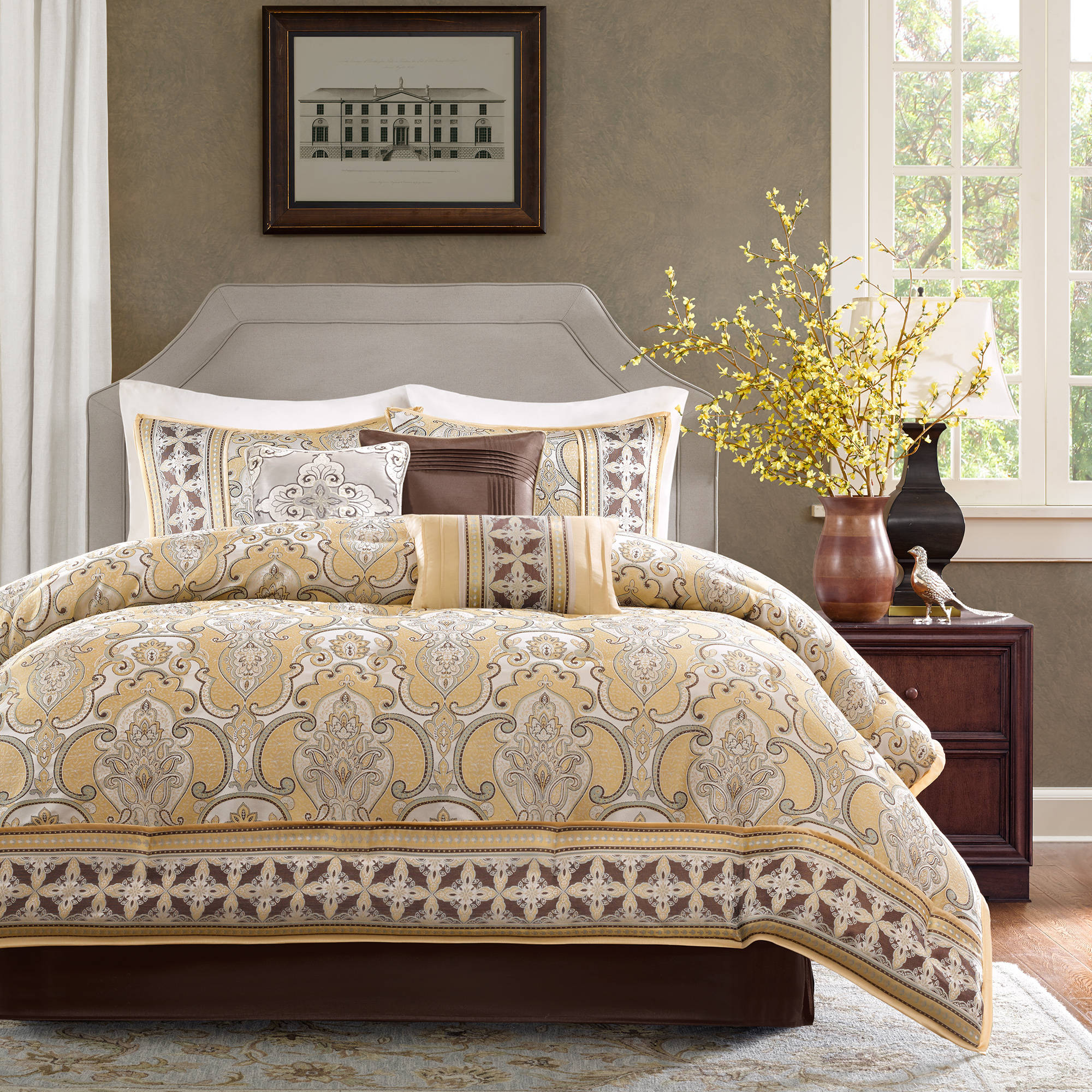 essence set itm home ebay comforter piedmont silver